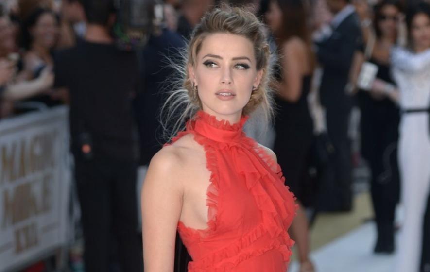 Amber Heard Instagram Cheeky