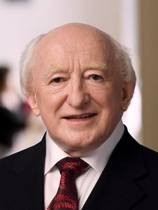 President Michael D. Higgins Source: wikicommons/CC