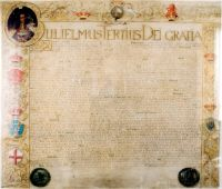 Facsimile of the Act of Settlement sent to Electress Sophia of Hanover Torsten Bätge - own work. Licensed under CC BY-SA 3.0 via Wikimedia Commons