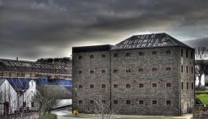 A warehouse at Old Bushmills