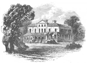 "The House in which Maria Edgeworth Lived Public Domain: from ""Irish Pictures Drawn with Pen and Pencil"" by Richard Lovett (1888)"