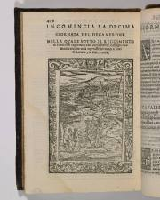 1590 edition of Boccaccio's Decameron (c) Marsh's Library (CC)