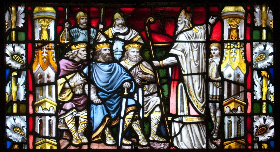 """St Patrick Preaching to the Kings"", Carlow Cathedral (c) Andreas F. Borchert (CC BY-SA 3.0 DE)"