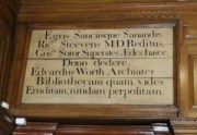 Latin dedication to Worth and Steevens (c) irish Philosophy