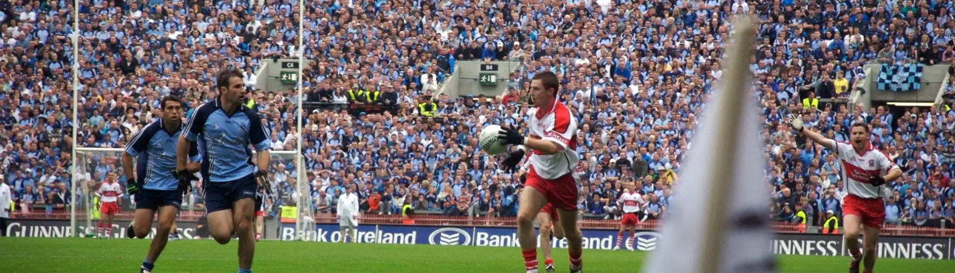 Dublin play Derry in Croke Park