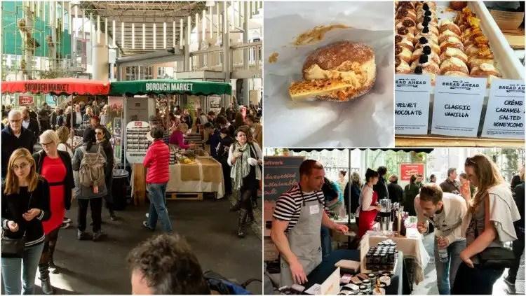 Bustling Borough Market