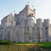 Gravesteen Castle -Irish Rugby Tours, Rugby tours To Ghent