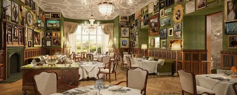 Afternoon Tea At Adare Manor - Irish Rugby Tours, Rugby Tours To Limerick