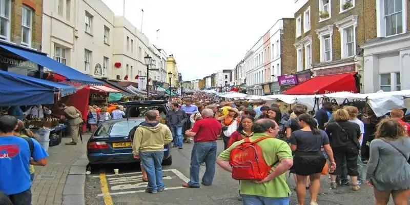 Notting Hill Film Locations, Portobello Market -Londons' Fantastic Freebies, Irish Rugby Tours