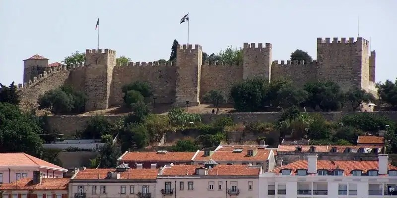 Sao Jorge Castle - Irish Rugby Tours, Pulsating Portugal