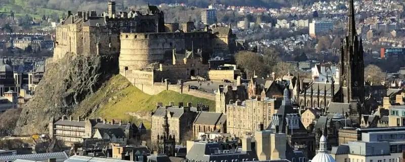 Rdinburgh Castle Rock - Electric Edinburgh, Irish Rugby Tours, Rugby Tours To Edinburgh
