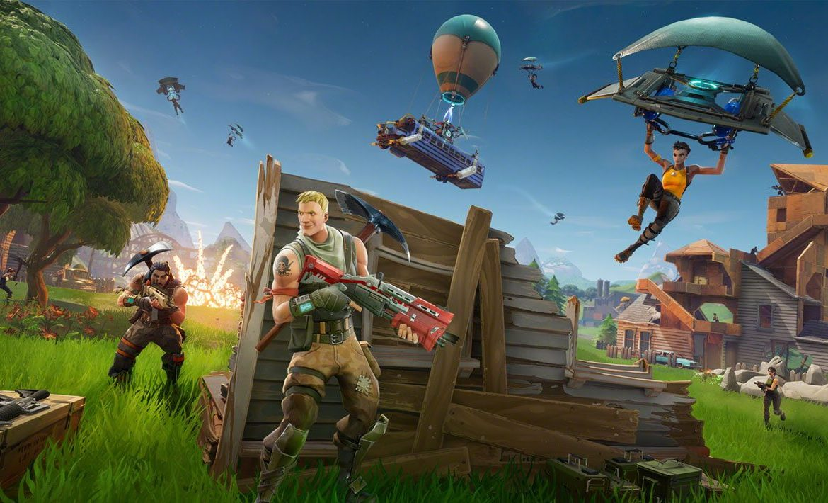 Fortnite on Android.