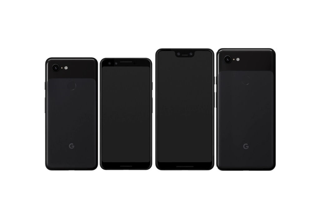 The Google Pixel 3 and the Google Pixel 3 XL.