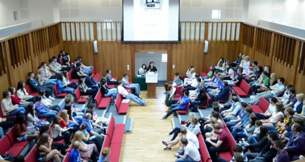 Join in: students debate at UCD – one of the many societies that welcomes first years