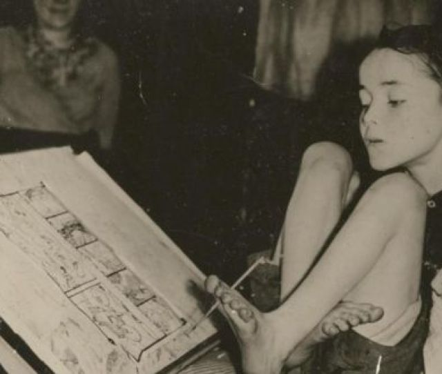 A Photograph Of Christy Brown Sold As Part Of Archived Auctioned By Bonhams In London Today