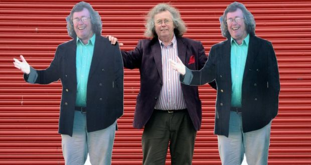 Mattress Mick With Two Of The Cutouts That Dot His Northside Premises Photograph Dave