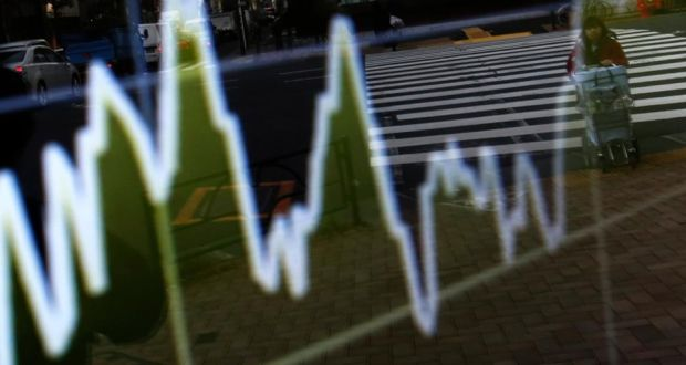 The Greek benchmark gauge plunged 8.4 per cent and as much as 11 per cent, the most among 18 western-European markets.Photograph: Yuya Shino/Reuters