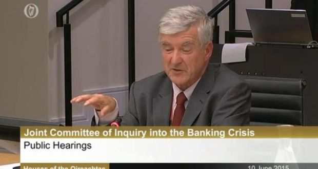 the Central Bank's former head economist Thomas O'Connell has told the Oireachtas Banking Inquiry that Ireland's banking and economic crash should never have happened.