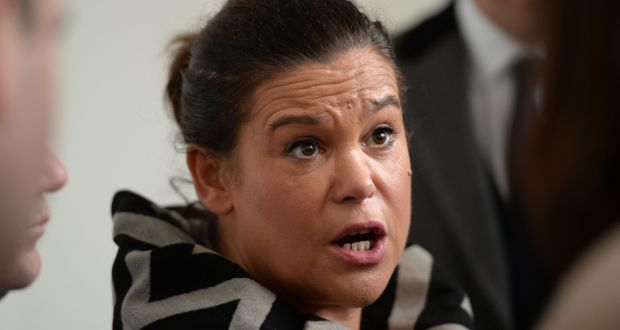 Sinn Féin deputy leader  Mary Lou McDonald: told the PAC  the former senior auditor has claimed his contract was not renewed by the Central Bank a month after he made a protected disclosure to the former   governor Patrick Honohan.    Photograph: Dara Mac Dónaill/The Irish Times