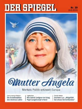 Image result for merkel magazine cover