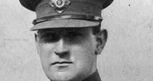 Michael Collins was one of the 1,800 Irish men sent to the  Frongoch internment camp in Wales following the 1916 Easter Rising. Photograph: Hulton Archive.