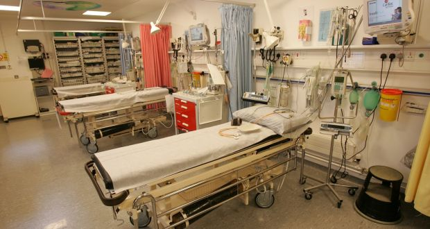 Image result for A lot of patients on hospital trolleys in Ireland