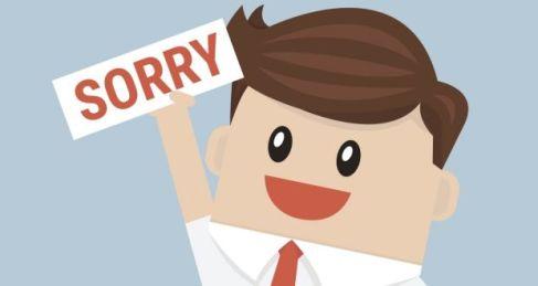 Resultado de imagen de apology