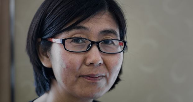 """Wang Yu: recognised for her """"substantial contributions in the areas of civil rights and civil liberties in China. Photograph: Philippe Lopez/AFP/Getty Images"""