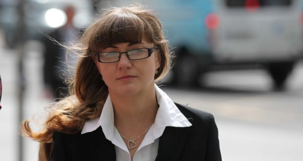 Marta Herda pleaded not guilty to the murder of Csaba Orsos at the South Quay, Arklow in March, 2013. Photograph: Collins Courts