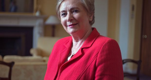 Minister for Justice Frances Fitzgerald has said direct provision system needs to be improved. Photograph: Dave Meehan/The Irish Times