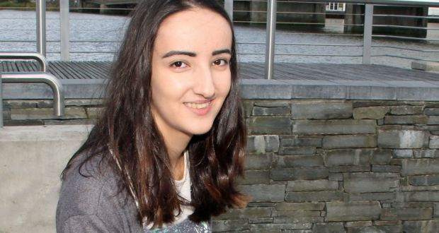 Nadezda Prochukhan, who got 615 points in her Leaving Cert and is now studying at Trinity College