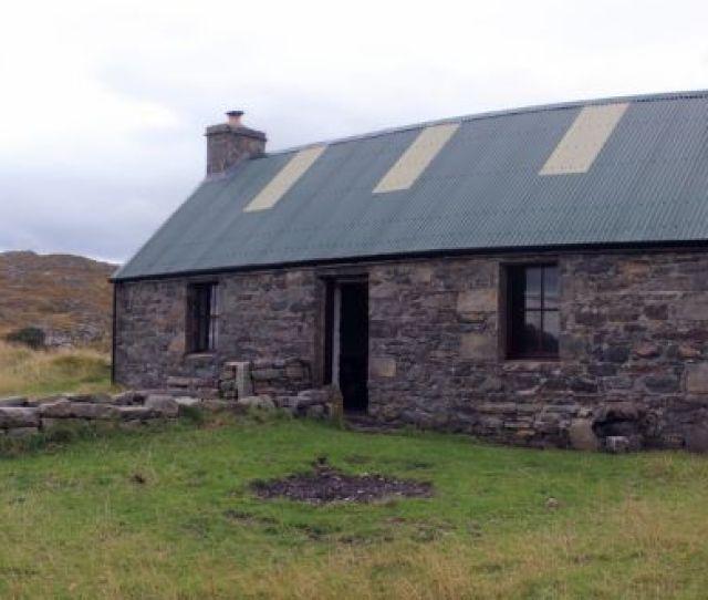 Peanmeanach Sits Above A Raised Beach On The Rugged Headland Of Arnish On Scotlands Western Seaboard