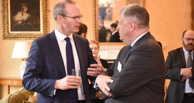 Image result for Simon Coveney says he is happy at the direction of Brexit negotiations on Irish issues