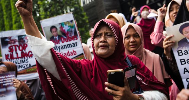 Image result for rohingya people ireland