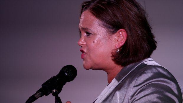 The Sinn Féin president, Mary Lou McDonald, said the trust offer was made