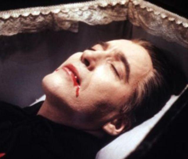 Dracula Christopher Lee In The 1958 Hammer Horror Film Of Bram Stokers Novel Photograph