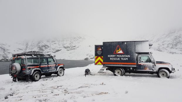 Kerry Mountain Rescue Team rescued eight people last Christmas