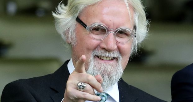 Image from May 2018 of comedian Billy Connolly. Photograph: Jane Barlow/PA Wire