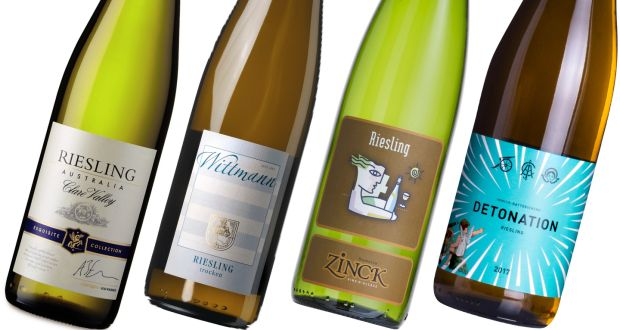 Rieslings from Aldi, Wittmann, Zinck and Immich-Batterieberg