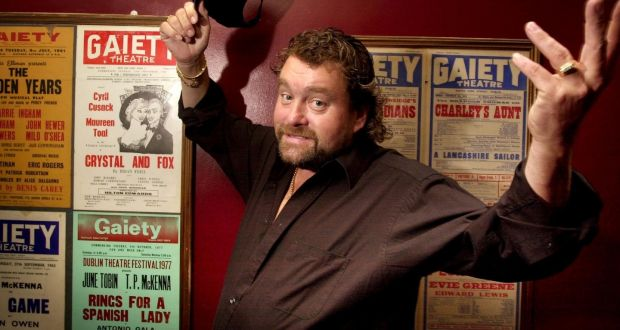 Brendan Grace at the Gaiety Theatre, Dublin, in 2001 Photograph: Dara  Mac Dónaill