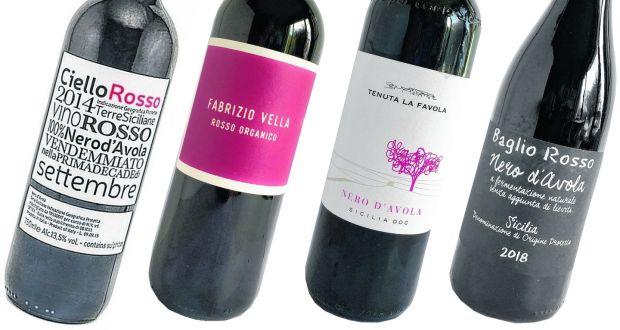 Powerful Italians: Ciello Rosso, Fabrizio Vella, Tenuta la Favola and Baglio Rosso organic Nero d'Avolas