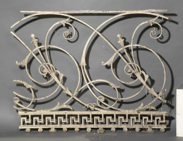 Switzers Department Story ironwork, Grafton St, Pearson Collection