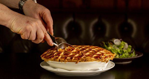 Comfort food: Stephen McAllister's cock-a-leekie pie