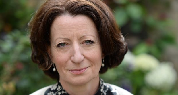 Kathleen MacMahon, author of Nothing But Blue Sky, pictured at  home in Dublin. Photograph: Dara Mac Dónaill