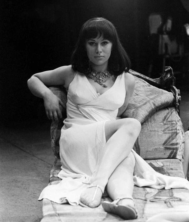 Mirren in Anthony and Cleopatra 1965. Photograph: Helen Mirren Archive/Bulls/Mirrorpix