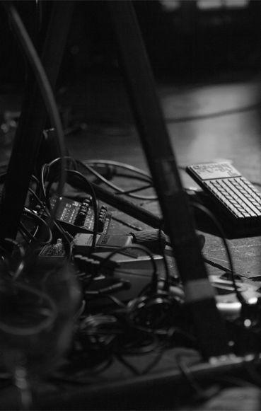 Pedals. Photograph: Euan Gebler