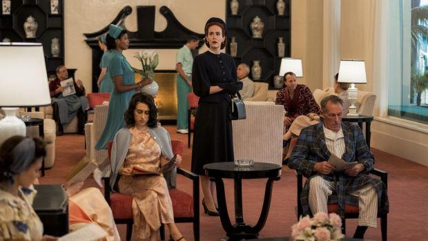 Sarah Paulson as Mildred Ratched. Photograph: Saeed Adyani/Netflix