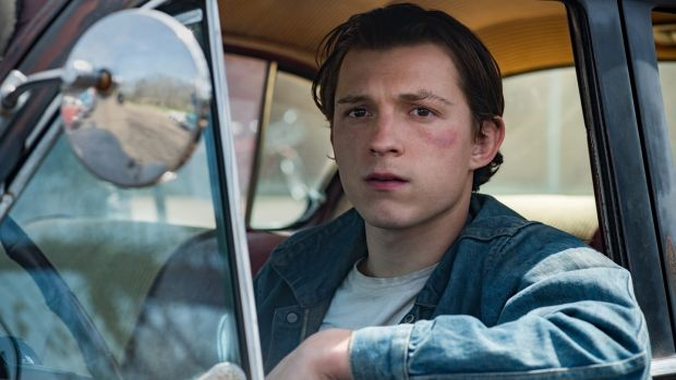 The Devil All The Time: Tom Holland as Arvin Russell. Photograph: Glen Wilson/Netflix