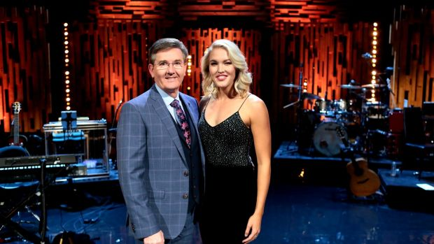 Daniel O'Donnell and Ashley Campbell on Opry le Daniel
