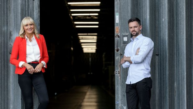 Miriam O'Callaghan and Mark Coughlan host The Next Normal